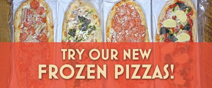 New Frozen Pizzas!
