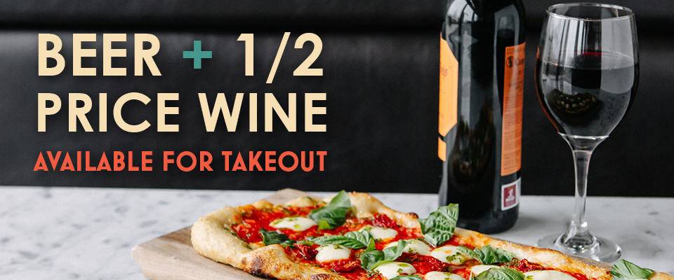 Wine + Beer for Takeout