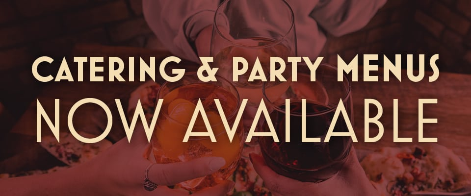 Catering and Party Menu